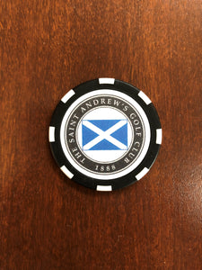 Saint Andrew's Logo Poker Chips
