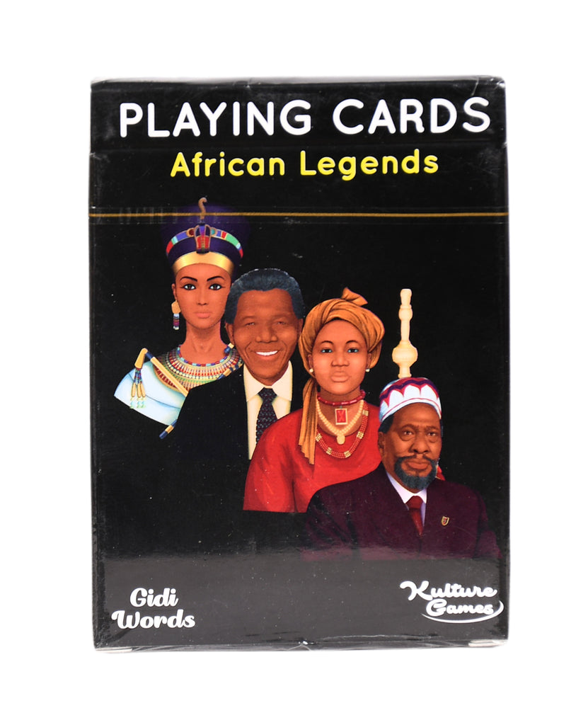Playing Cards African Legends