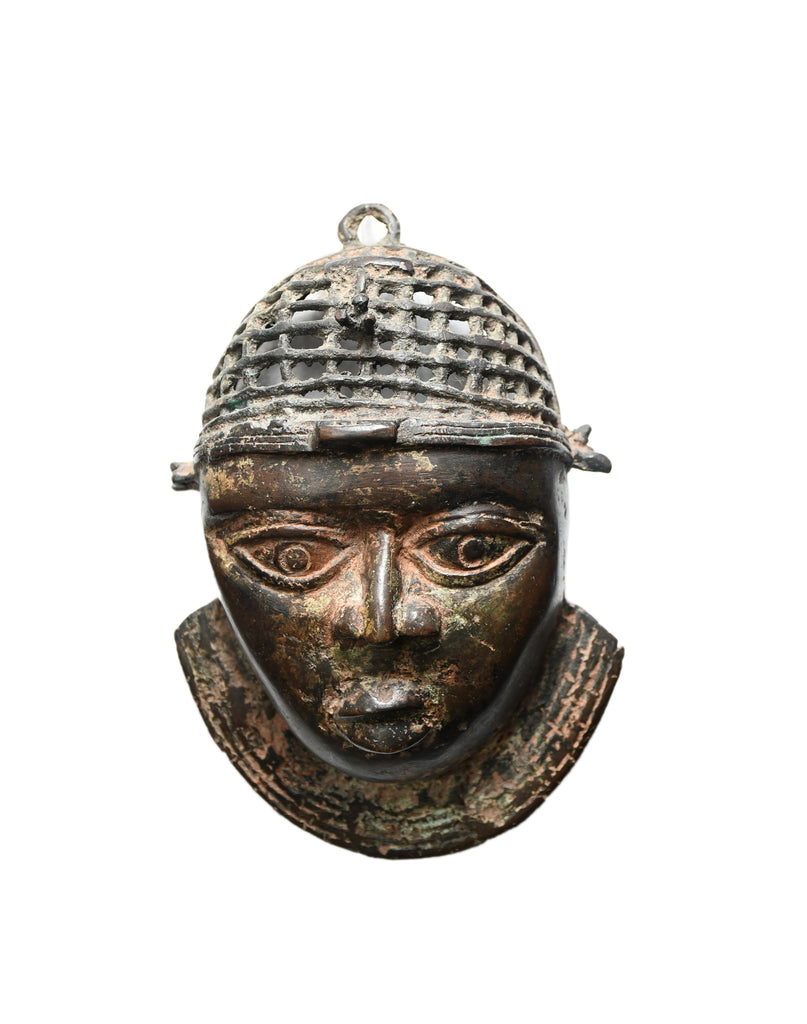 MIL Latticed Benin Head (W.H) SMALL