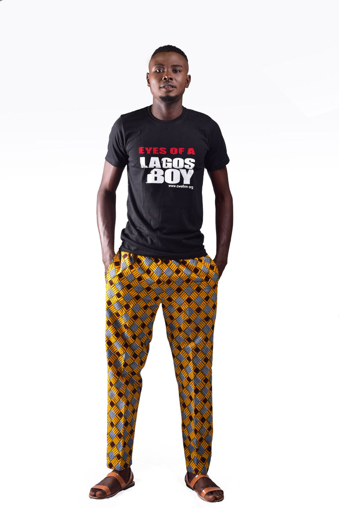 Eyes of a lagos boy t-shirt