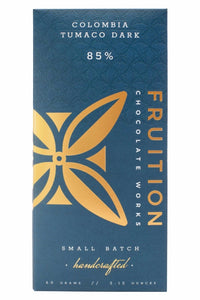 Fruition Chocolate Bar-Colombia Tumaco Dark 85%