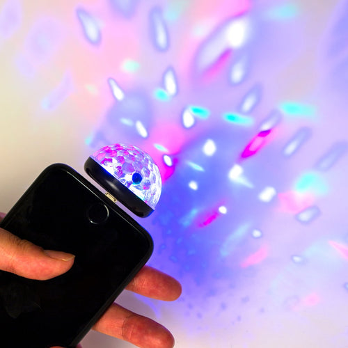 Cell Phone Disco Light