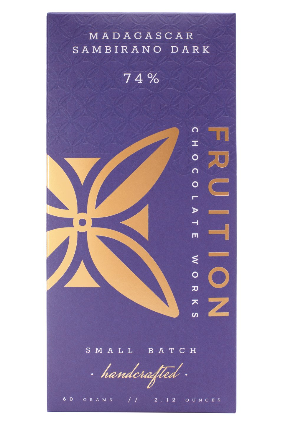Fruition Chocolate Bar-Madagascar Sambirano Dark 74%
