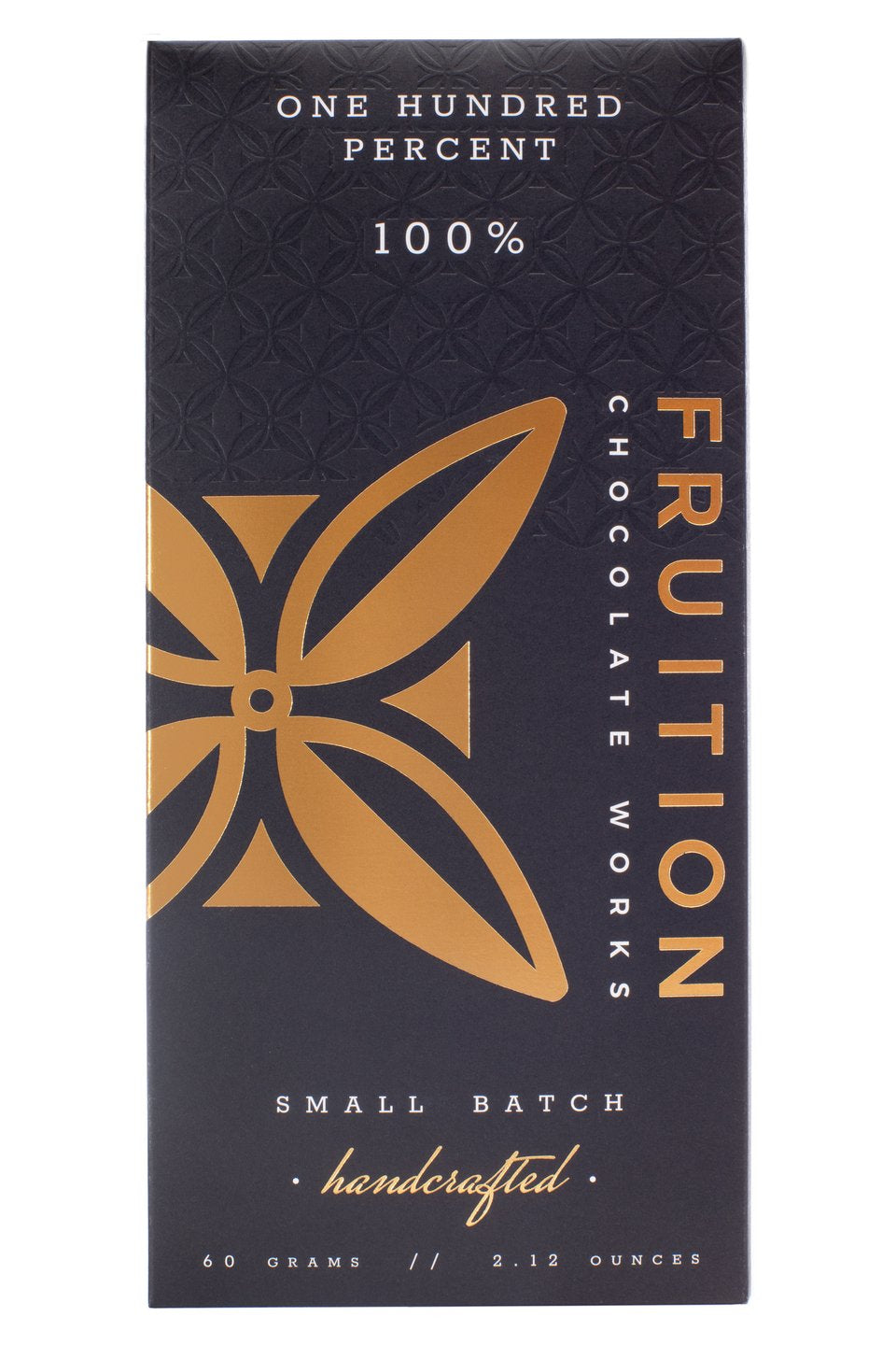 Fruition Chocolate Bar- One Hundred Percent
