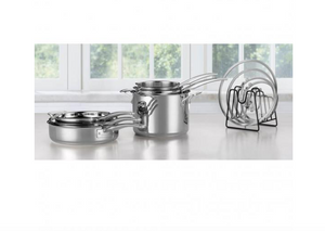 CUISINART® SMARTNEST STAINLESS STEEL 11 PIECE SET