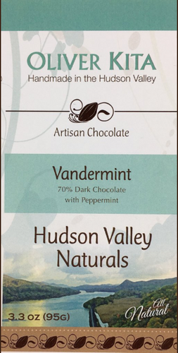 VANDERMINT - DARK CHOCOLATE 70% WITH PEPPERMINT