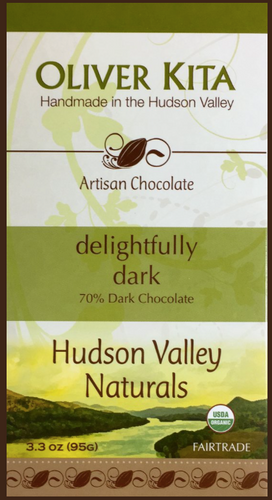 DELIGHTFULLY DARK - 70% DARK ORGANIC BAR