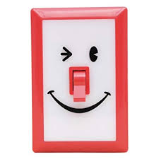 Smile Switch LED light from Time Concepts
