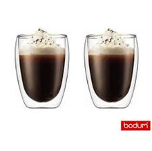 Load image into Gallery viewer, Bodum 12 oz Pavina Double Wall Glass - set/2
