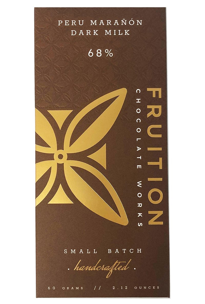 Fruition Chocolate Bar-Peru Maranon Dark Milk 68%