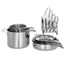 Load image into Gallery viewer, CUISINART STAINLESS STEEL 11 PIECE SET