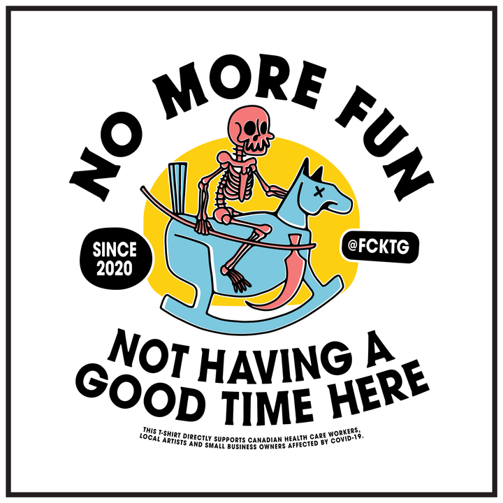 'No More Fun' by @fcktg
