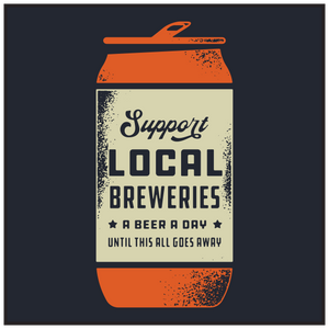 'Support Local Breweries' by @littlegnt