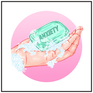 'Anxiety Bath' by @marijkebouchier