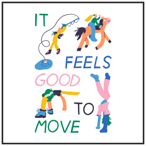 'It Feels Good to Move' by @genevieve.ashley