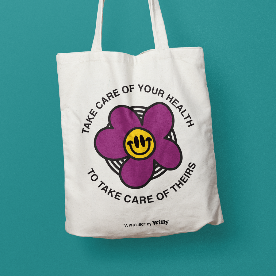 Care for Theirs (Canvas Tote Bag)