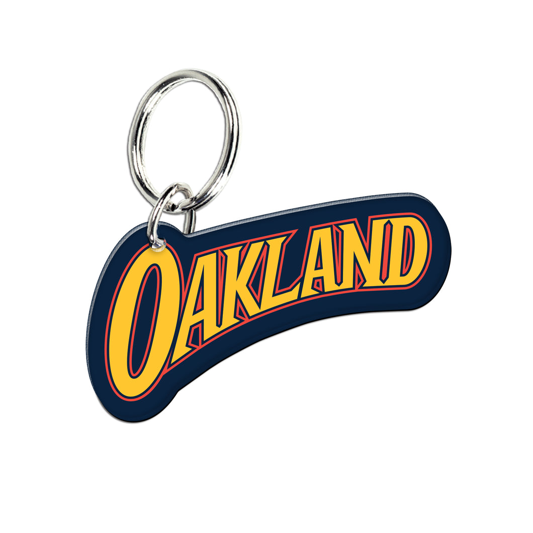 Golden State Warriors City Edition 2020-21 Acrylic Key Ring