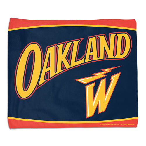 Golden State Warriors City Edition Rally Towel