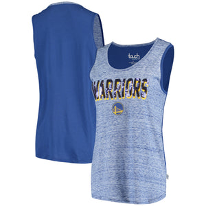 Women's Touch by Alyssa Milano Royal Golden State Warriors Wild Card Tank Top