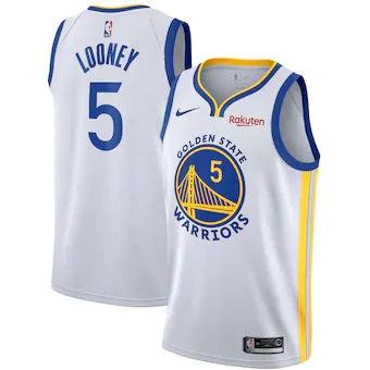 Men's Nike Swingman Jersey Kevon Looney - Association Edition