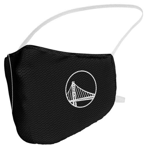 Adult Fanatics Branded Golden State Warriors Blackout Logo Face Covering
