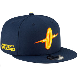 "Golden State Warriors New Era 9FIFTY City Edition 2020/21 Flying ""O"" Hat"