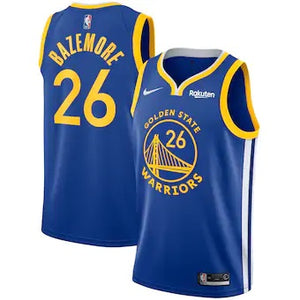Men's Nike Swingman Jersey - Icon Edition - Kent Bazemore