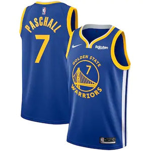 Men's Nike Swingman Jersey - Icon Edition - Eric Paschall