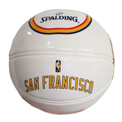Golden State Warriors Spalding Classic ED Underglass B7 Ball