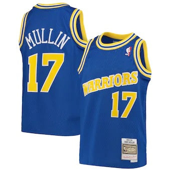 Youth Mitchell & Ness Hardwood Classic Mullin Jersey