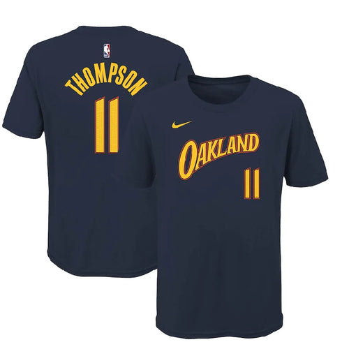 Youth Nike Name & Number Thompson  City Edition T-Shirt