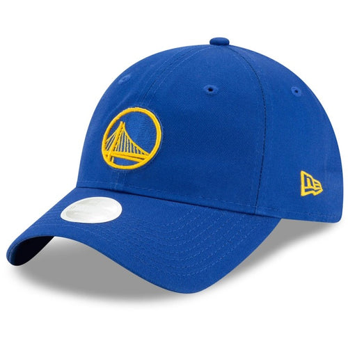 Women's New Era Royal Golden State Warriors Free Throw Collection 9TWENTY Adjustable Hat