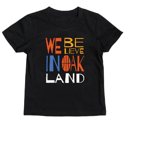 Toddler Golden State Warriors X Oaklandish City Edition We Believe T Shirt