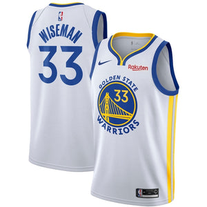 Men's Nike Authentic  Jersey - James Wiseman  Association Edition
