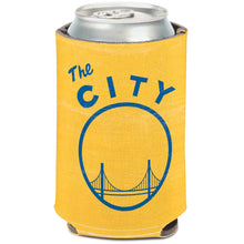 Load image into Gallery viewer, WinCraft Golden State Warriors 12oz. Vault Logo Can Cooler