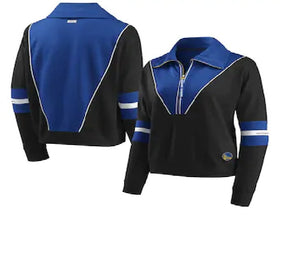 Women's WEAR by ERIN ANDREWS Color Blocked Half Zip Jacket