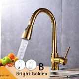 Brushed Nickel Mixer Faucet - thebestb4u.com