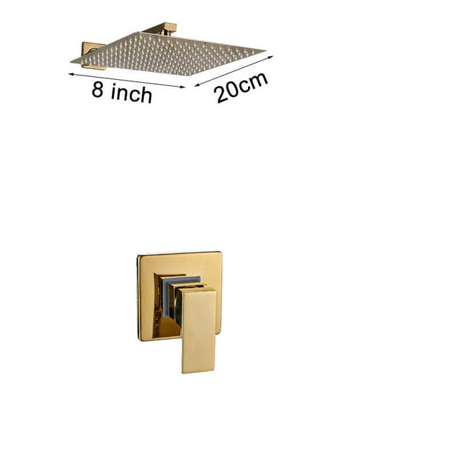 Rainfall Golden Shower Faucet Set - thebestb4u.com