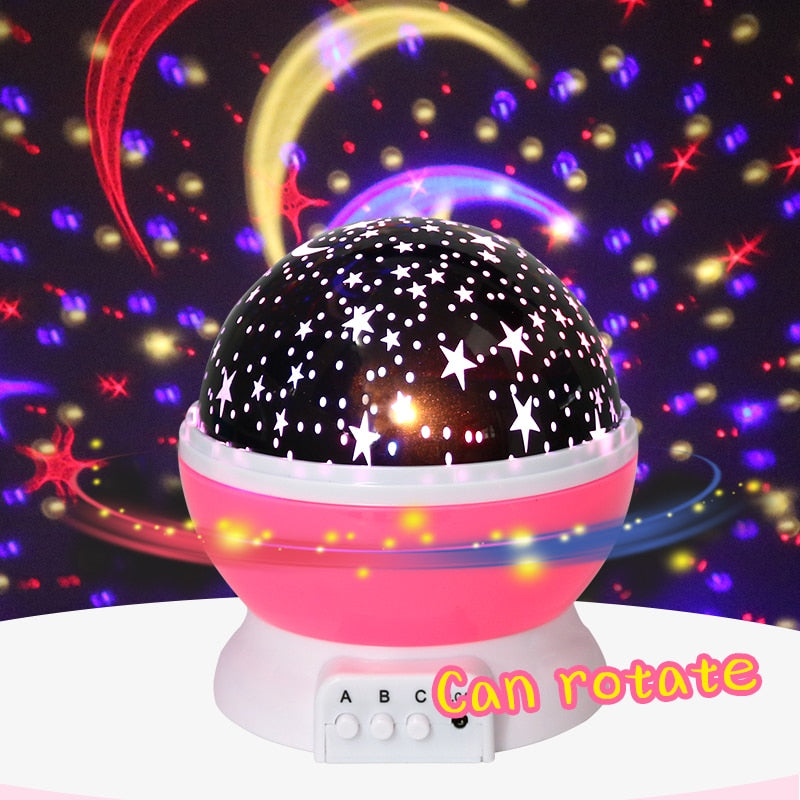 Romantic Starry Sky LED Night Light - thebestb4u.com