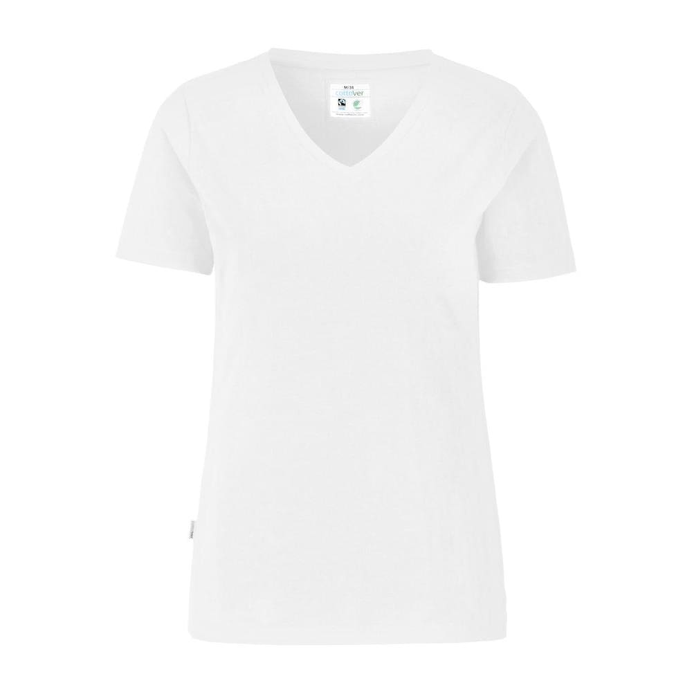 T-shirt slim fit med stretch - Dame - CottoVer