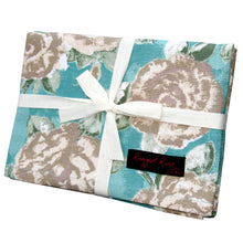 Load image into Gallery viewer, Tracy Pack of 2 Floral Tea Towels.