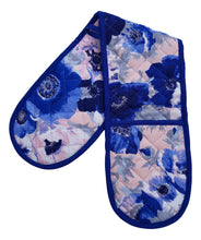 Load image into Gallery viewer, Bertha Floral Double Oven Gloves
