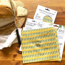 Load image into Gallery viewer, The Big One! - XL Beeswax Bread Wrap
