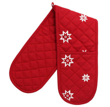 Load image into Gallery viewer, Bertha Christmas Double Oven Gloves