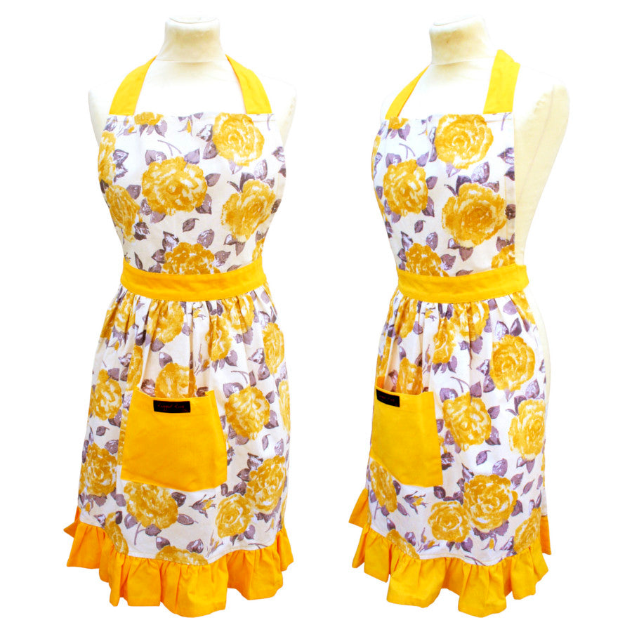 Betty Frilly Retro Apron
