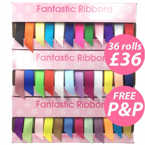 Bumper Cake board Ribbon Collection