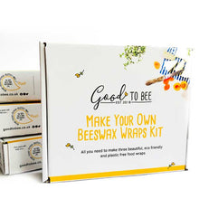 Load image into Gallery viewer, Make Your Own Beeswax Wraps Kit