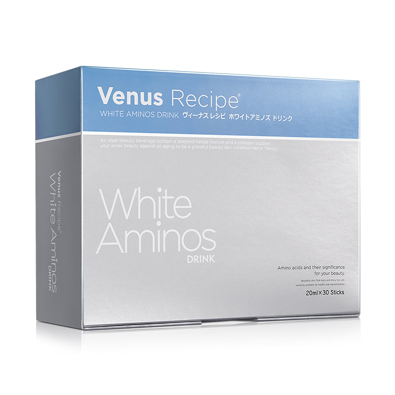 Venus Recipe White Aminos Drink (20mL x 30 packets)