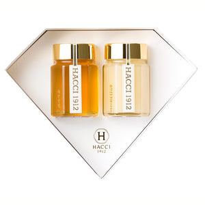 Mini Diamond Box - Table Honey 2 Bottle Set (Acacia from Hungary & Orange from Mexico)