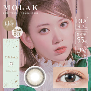 MOLAK 1DAY (10 LENSES/BOX) 2 BOX SET